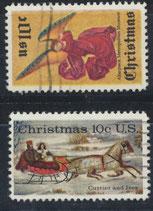 1160-1161  gestempelt (USA)
