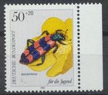 BRD 1202 postfrisch mit Bogenrand rechts