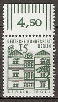 243 postfrisch mit Bogenrand oben (RWZ 4,50) (BERL)