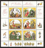 2914-2919 postfrisch Kleinbogen (DDR)