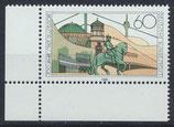 BRD 1369 postfrisch mit Eckrand links unten