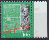 BRD 1896  postfrisch mit Bogenrand rechts