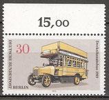 BERL 448 postfrisch mit Oberrand (RWZ 15,00)