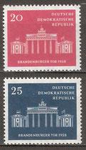 665-666 postfrisch (DDR)