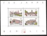 BERL Block 8    772-775 postfrisch