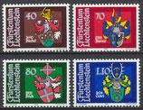 743-746 postfrisch (LIE)