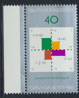 BRD 928 postfrisch mit Bogenrand  links