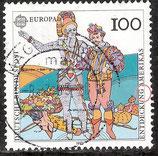 1609 / DE1510-002 gestempelt (Plattenfehler DE)