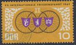 DDR 1278 philat. Stempel (2)
