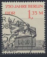 DDR 3123 gestempelt