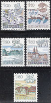 CH 1227-1231 postfrisch