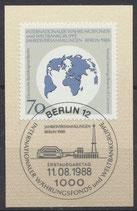 BERL 817 mit Ersttagssonderstempel