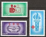 1207-1209 postfrisch (DDR)