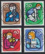 BERL 468-471 gestempelt