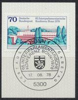 976  mit Ersttagssonderstempel (BRD)
