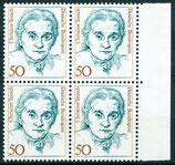 1304 postfrisch Viererblock mit Bogenrand rechts (BRD)