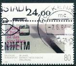 BRD 1214 gestempelt mit Bogenrand oben (RWZ 24,00)