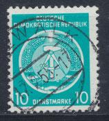 DDR-DI 4 philat. Stempel
