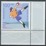1900 postfrisch Eckrand rechts unten (BRD)