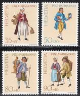 1417-1420 postfrisch (CH)