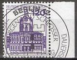 BERL 675 gestempelt mit Bogenrand rechts