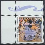 2061 gestempelt mit Eckrand links oben (BRD)
