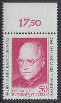 BERL 624 postfrisch mit Bogenrand oben