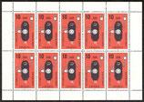 2601 postfrisch Kleinbogen (DDR)