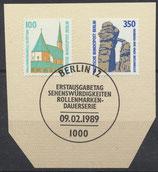 BERL 834-835 mit Ersttagssonderstempel