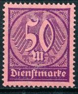 73 Dienstmarke postfrich (DR-DI)