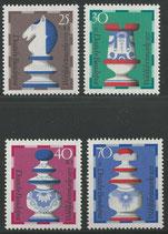 742-745   postfrisch  (BRD)