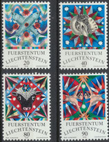 658-661 postfrisch (LIE)