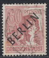 BERL 14 gestempelt