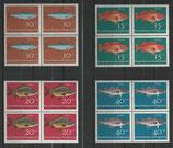 BRD 412-415 postfrisch Viererblock