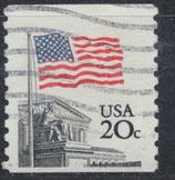 USA 1522 C gestempelt
