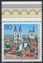 BRD 1846 postfrisch mit Bogenrand oben