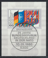 BRD 1034  mit Ersttagsonderstempel