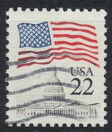 USA 1738 A gestempelt