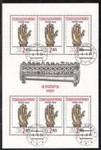 CZ 3051-3052 gestempelt Kleinbogensatz