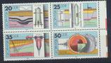 DDR 2557-2560 postfrisch Viererblock mi Bogenrand rechts