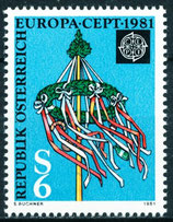 1671 postfrisch (AT)