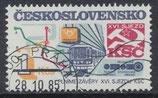 CSSR 2832 gestempelt