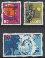 DDR 1343-1345 philat. Stempel