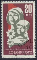 DDR 1256  philat. Stempel