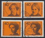 BRD 791-794 gestempelt (1)