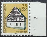 DDR 2625 postfrisch mit Bogenrand rechts
