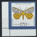 BRD 1606 postfrisch mit Eckrand links unten