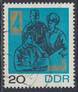 DDR 1320 gestempelt