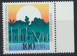 BRD 1615 postfrisch mit Bogenrand rechts