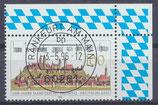 1856 gestempelt Eckrand rec hts oben (BRD)